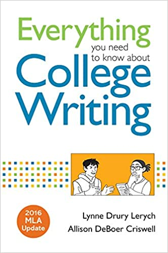 amazon com everything you need to know about college writing 2016