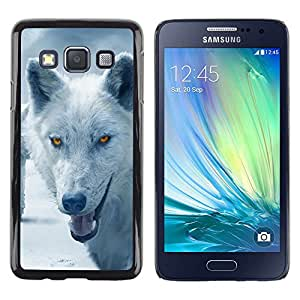 Stuss Case / Funda Carcasa protectora - Wolf Arctic Winter Furry Canine Beast - Samsung Galaxy A3 SM-A300