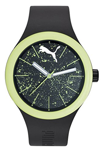 Puma Unisex Black Plastic watch-PU911401001