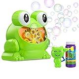 MagicMB Automatic Bubble Machine for Kids, Kids Bubble Machine Bubble Blower Making Bubbles