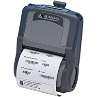 Zebra QL 420Plus Direct Thermal Printer - Monochrome - Portable - Label Print - 4.09 Print Width - Peel Facility - 3 in/s Mono - 203 dpi - 16 MB - Bluetooth - USB - Serial - Battery Included - LCD - 4.25 - Q4D-LUBC0000-00