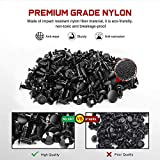 Nilight 240PCS Bumper Retainer Clips with Fastener
