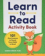Helping your child learn to read is easier with 1O1 way fun lessons              When it comes to teaching kids how to read, the key is to make it entertaining. The Learn to Read Activity Book gets kids excited to learn by inc...