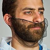 Royal Dark Brown Nylon Honeycomb Beard Protector, Latex Free, Package of 100
