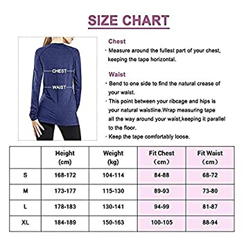 Ogeenier Womens Dry Fit Long Sleeve Athletic Workout Yoga Shirts Running Gym Tops with Thumbholes V Neck
