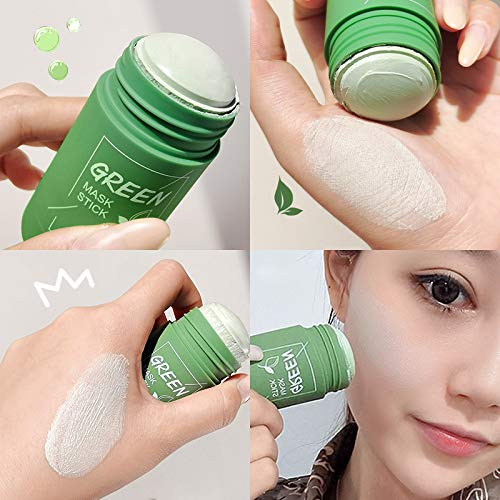 2PCS Green Mask Stick, Green Tea Purifying Clay Stick Mask, Face  Moisturizes Oil Control, Deep Clean Pore, Improves Skin,for All Skin Types  Men Women (Green Tea +Eggplant) | Pricepulse