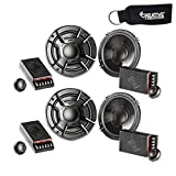 Polk Audio - Two Pairs of DB6502 6.5' Component Speaker - Marine and Powersports Certification