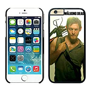 Easy Set Walking Dead Daryl Dixon Black cell phone Case for iPhone 6 4.7 inch 260