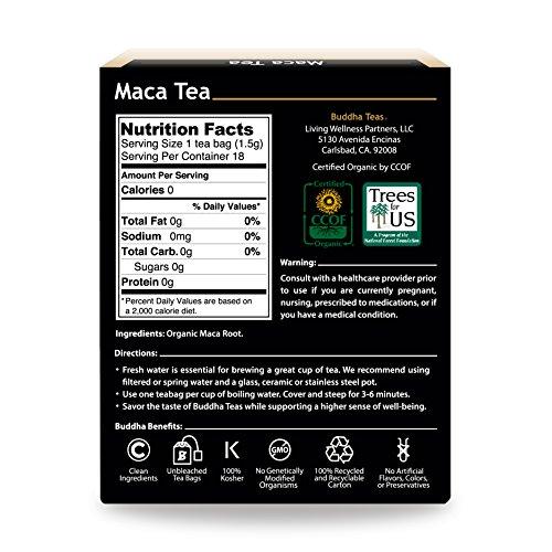 Review Organic Maca Root Tea