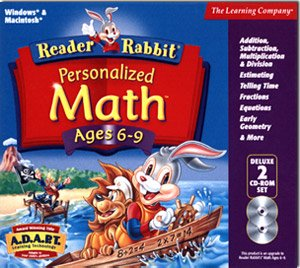 (Reader Rabbit Personalized Math 6-9 Deluxe)