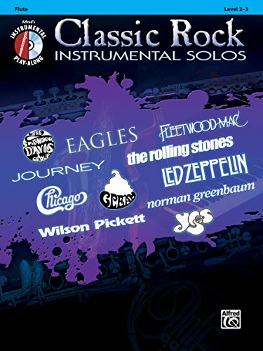 - Classic Rock Instrumental Solos: Flute, Book & CD (Pop Instrumental Solo Series)