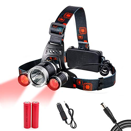 Led 4 Mode Headlamp Light Torch Camping Flashlight in US - 1