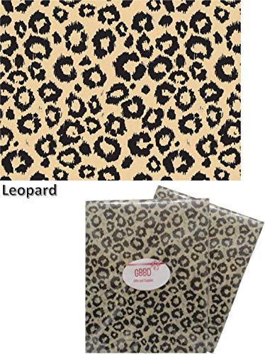 Animal Print Tissue Paper for Gift Wrapping 24 Decorative Sheets 20