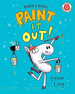Book Cover: Horse and Buggy Paint It Out!