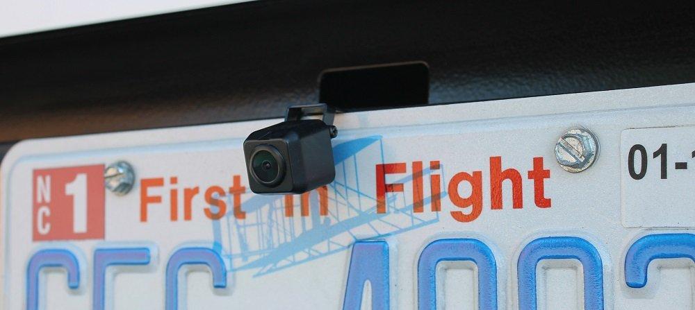 Rostra 300-LPB Universal License Plate Bracket//Hinge Mount CMOS Color Camera Rostra Precision Controls Inc.