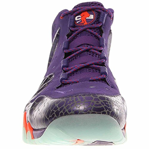 Nike Barkley Posite Max 555097 581 Herren Basketball Trainer Turnschuhe Court Lila Team Orange Phoenix Sonnen Farbe Weg Court Lila / Teamorange