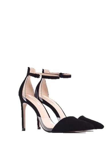 ventes spéciales couleurs et frappant Vente de liquidation 2019 Zara Chaussures à Talon/Sandales Femmes Noir/Élégante/Soirée ...