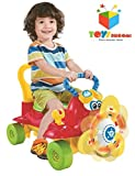 Toys Bhoomi Spinning Propeller Musical Infant Ride On Plane Car Kids Push Walker Scooter with Lights & Sound