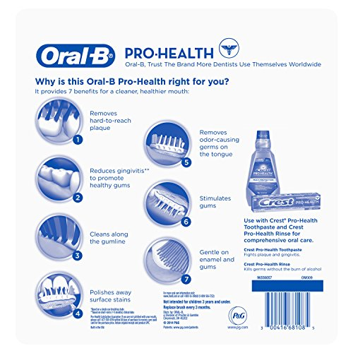 Oral-B Pro Health All In One Soft Toothbrushes, 6 Count by Oral B (Image #1)
