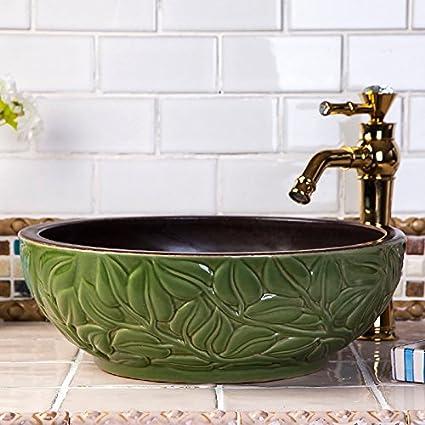 Vaso bagno lavandino arte Lavabo,Arte Ceramica bacino bacino Hotel ...