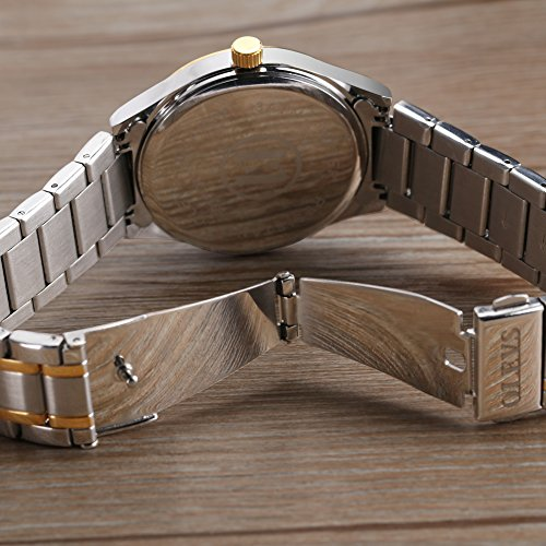 OLEVS-Men-Women-Quartz-Business-Watch-with-Stainless-Steel-Band-Classic-Waterproof-Watches-Roman-Numeral-Unique-Calendar-Date-Window-Wristwatch