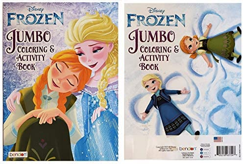 Jumbo Playing Cards and Crayola Crayons Mixed Disney Frozen Coloring and Activity Set  Coloring and Play Activity Book Sticker Book Colorforms Fun Pack