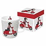 Paperproducts Design Mug In Gift Box Featuring William Design, 5 x 4 x 4