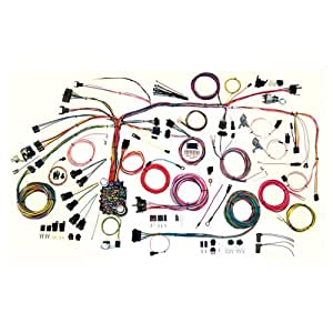 51weu7pgtFL._SY300_QL70_ amazon com american autowire 500886 wire harness system for 67 68