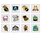 Pirate Tattoos - 12 pack by Hendbrandt