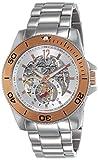 Kenneth Cole New York Men's KC9254 Modern Core Triple Silver Automatic Bracelet Watch