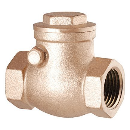 LDR 022 1243 1/2-Inch Swing Check Valve, Lead Free Brass (Pipe Brass 0.5' Ips)