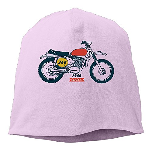 YUYU Momen Classic Viking Cool Travel Pink Beanies -