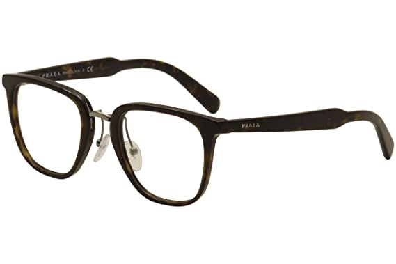 2eb1a33416 Prada Men s PR 10TV Eyeglasses 49mm at Amazon Men s Clothing store