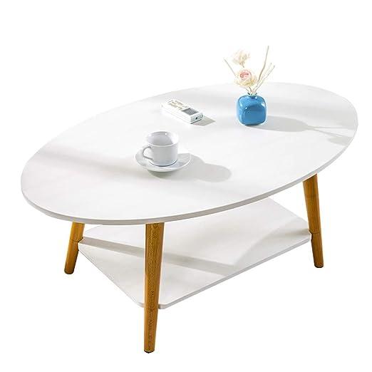 Sencilla máquina de té pequeña Mesa Redonda, Dos Pisos, Mesa de ...