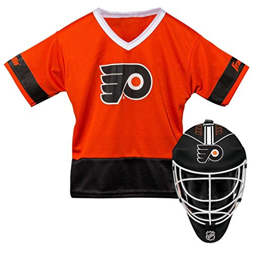 Franklin Sports NHL Philadelphia Flyers Youth Team Uniform Set, Pink, One Size – DiZiSports Store