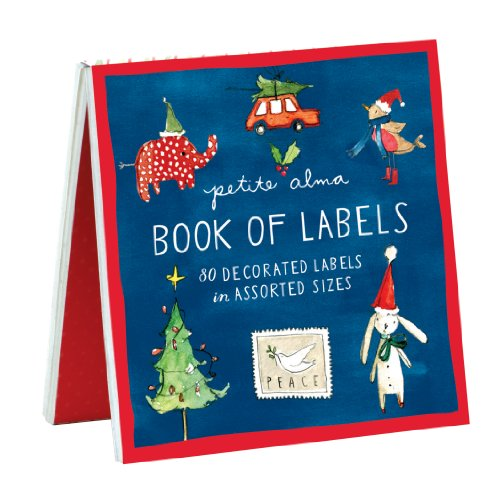 Petite Alma Holiday Cheer Book of Labels