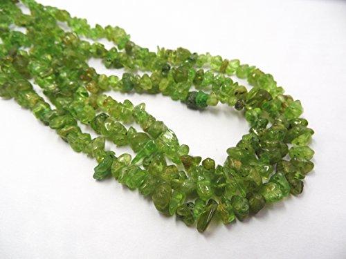 Peridot Chip Beads - 4