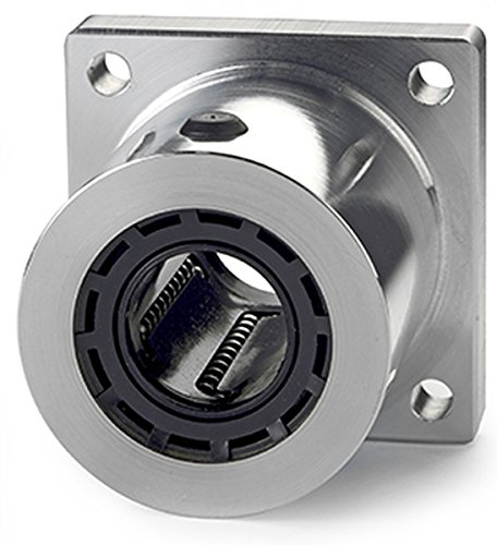 Closed Pillow Block Class L Flanged self-aligning; use with 0.75 in Diameter Shaft Thomson SFB12 Super for end supported applications