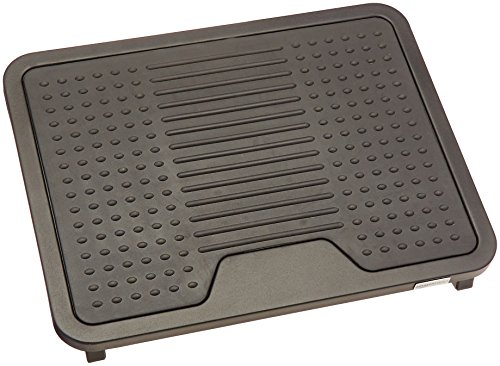 AmazonBasics Under Desk Foot Rest - - Long Bare Legs