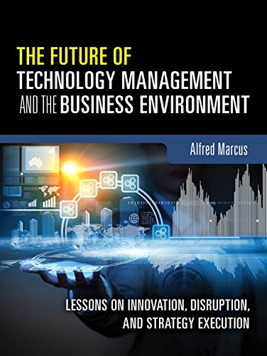 - The Future of Technology Management and the Business Environment: Lessons on Innovation, Disruption, and Strategy Execution