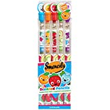 Scentco Graphite Smencils 5-Pack of Scented Pencils