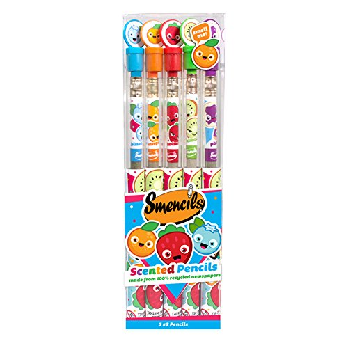 Smencils 5-Pack of Scented Pencils
