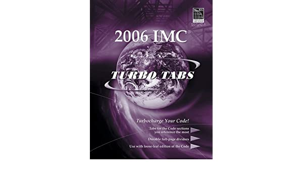 Turbo Tabs for ICCs 2006 International Mechanical Code (International Code Council Series) 1st Edition