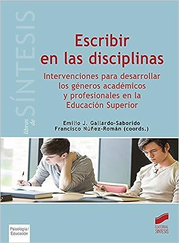 Book ESCRIBIR EN LAS DISCIPLINAS