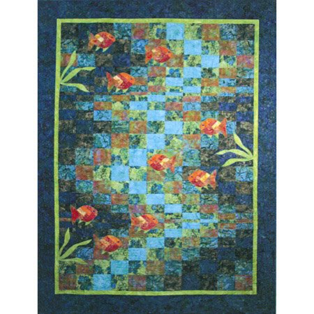 Molokini Bay Quilt Pattern by Quilting Time