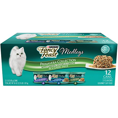 Fancy Feast Elegant Medley`s Primavera Collection Variety Pa