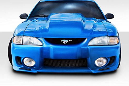 Duraflex ED-VGQ-517 Evo 5 Front Bumper Cover - 1 Piece Body Kit - Compatible For Ford Mustang -