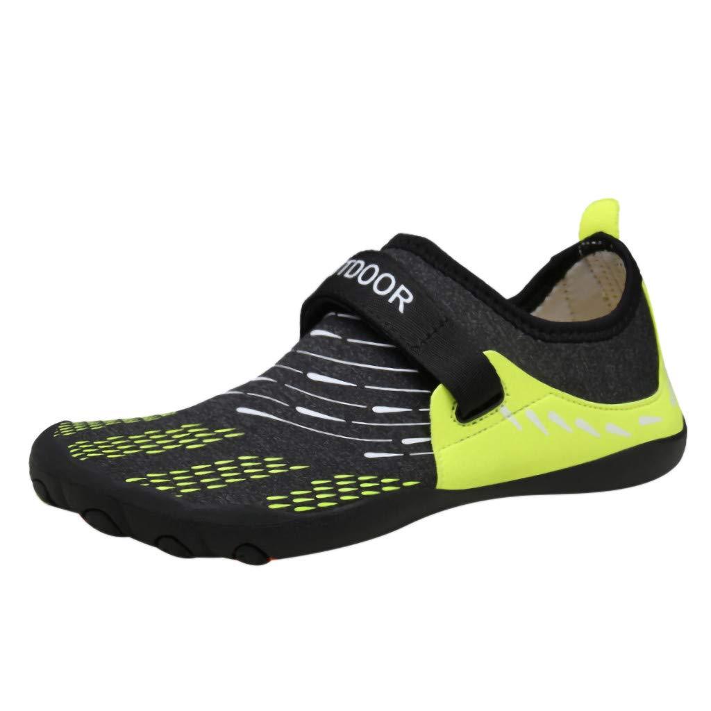 LuckyGirls ❤️/• /•❤️ Zapato de Agua para Buceo Piscina Snorkel Surf Hombre Mujer Playa Calzado Nataci/ón Deportes Acu/áticos Senderismo Zapatillas Aire Libre Escarpines R/ío Aqua Cycling Aquagym