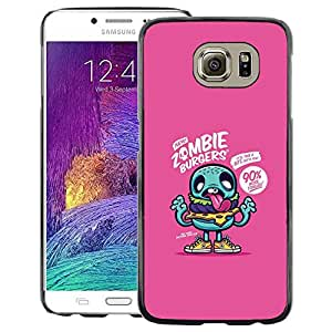 Red-Dwarf Colour Printing Purple Zombie Cute Drawing App Game - cáscara Funda Case Caso de plástico para Samsung Galaxy S6 SM-G920