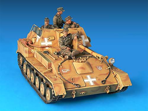 WWII Military Miniatures 1//35 Scale Tank Model Kit MiniArt 35053 German Jagdpanzer SU-76 Tank with Crew r